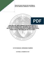 Analisis Regimen disciplinario PNC (tésis) 2007