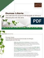 DP - Dumas Literie, une démarche environnementale et éthique