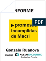 informe promesas incumplidas