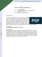 Article RevueCanadienneACSI Culture Informationnelle