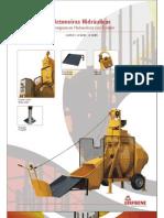 Catálogo Betoneiras/Hormigoneras LIS 400RH, 550RH, 550RHC (pt-es)