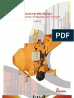 Catálogo Betoneira/Hormigonera LIS 750RH (pt-es)