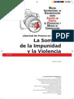 Misión Internacional, México la Sombra de la Impunidad 2008
