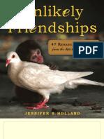 Unlikely Friendships Brochure