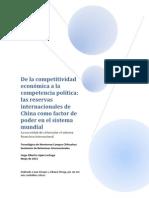 De la competitividad económica a la competencia política