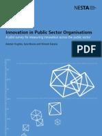 Innovation in Public Sector Organisations