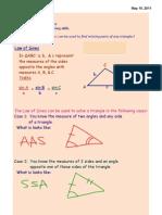 Trig 2 Notes