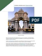 A Praça do Comércio - Lisboa
