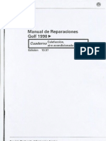 VW Golf 1998 - Manual de reparaciones Calefacción y Aire Acondicionado