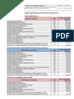 Tabela Referencial de Precos de Projetos IOPES JUN2009