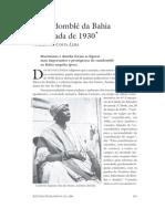 O candomblé da Bahia nos anos 1930