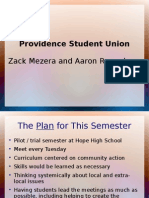 Evaluation Plan - Student Union - Mezera Regunberg