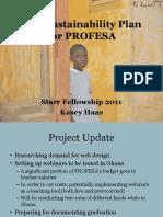 Evaluation Plan - Profesa - Haas