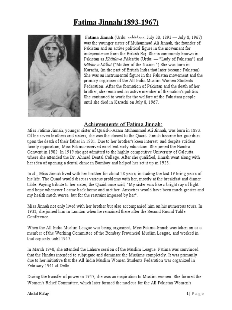 essay on miss fatima jinnah in urdu related posts to essay on miss fatima jinnah in urdu
