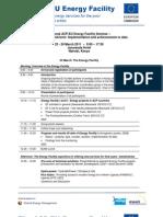 Regional Seminar Nairobi Programme