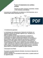 Planta MODULAR para el tratamiento de vertidos cloacales e industriales