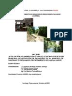 Plan Municipal de Reducción de Desastres