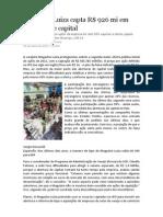 Magazine Luiza capta R$ 926 mm em abertura de capital