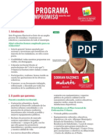 Programa electoral IU Tarifa 2011
