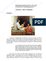 MÚSICA POPULAR BBRASILEIRA - II - MODINHA E LUNDU