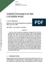 Vortex Dynamics in the Cylinder Wake