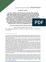 EFSA Glucomannan Scientific Opinion