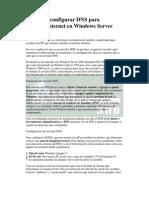 Instalar y Configurar DNS W2003(Tema4)