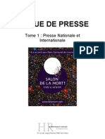 Salon de la Mort presse internationale