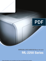 Samsung Ml.2250 Guide Spanish