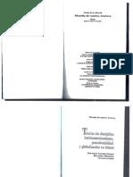 CASTRO-GOMEZ Santiago. Teorías sin disciplina. Latinoamericanismo, poscolonialidad y globalización en debate