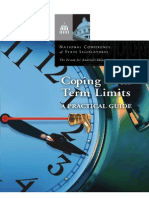 NCSL - Coping With Term Limits