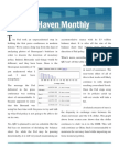 Market Haven Monthly Newsletter - May 2011