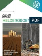 'Heldergroengas' - Natuur & milieu 2011