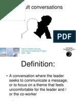 TSS Difficult Conversations