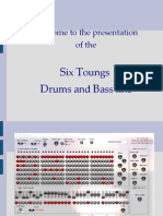 Notice Drums Bass Line 2 PDF