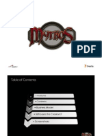 Mythos Pitch Document