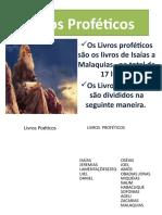 Livros Profeticos 2011-1aula