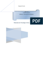 METODOS e TECNICAS de INVESTIGAÇÃO aula1