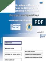 Estudio Demanda Potencial Ingenieros y ArquitectosJunio2010