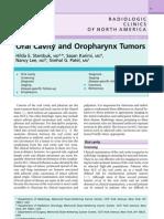 Radiol Clin N Am 2007 - Oral Cavity and Oropharynx Tumor