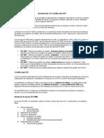 Introducción a la Certificación ISO