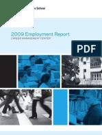 2009.Columbia.business.school Employment Report
