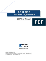 Pg11 User Manual 2007
