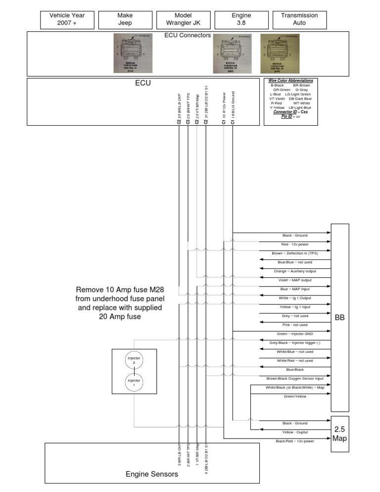 Jeep Wrangler JK Ripp SDS Wiring Diagram