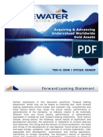 Edgewater Exploration (EDW) - Corporate Presentation