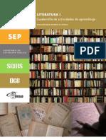 LITERATURA I-Cuadernillo de Actividades