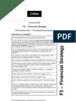 F3 Nov 2010 Exam Paper
