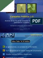 Alcances de las TIC en las campañas electorales y la participación ciudadana