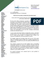 05 10 11 ECHDC Hosts Presentation on Buffalo River Restoration Project