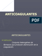 5.- Hematologia Anticoagulantes